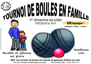 Tournoi de boules en familles