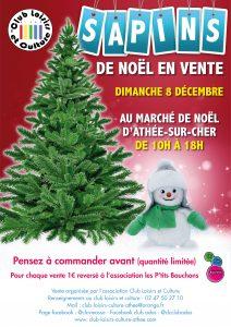 Vente de sapins de Noël: ouverture des réservations!!!